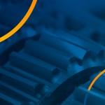 Engrenagens simbolizando o conceito de máquinas ou equipamentos importados por meio do regime aduaneiro especial de admissão temporária