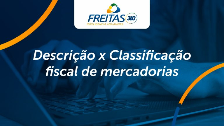 Descrição x Classificação fiscal de mercadorias