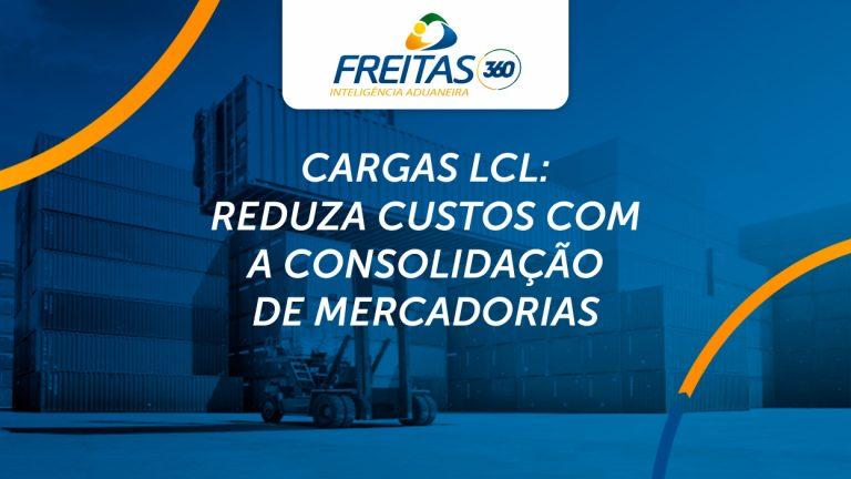 Cargas LCL: reduza custos com a consolidação de mercadorias