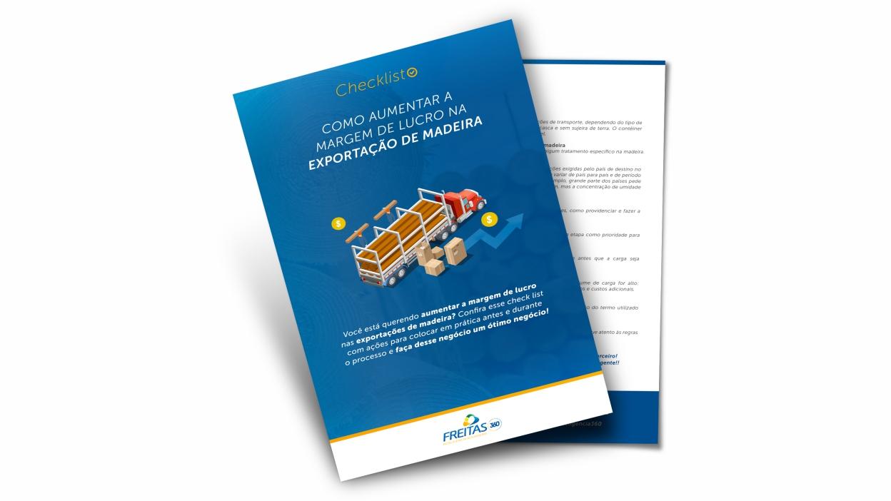 Checklist: como aumentar a margem de lucro na exportação de madeira