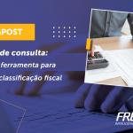 Solução de consulta de classificação fiscal
